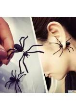 Paire de boucles d'oreilles araignée