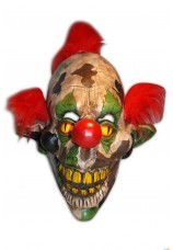 Masque de clown camouflage halloween