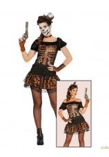 Squelette femme long