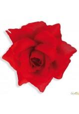 Rose sur clips