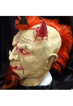 Masque de punk diaolique en latex