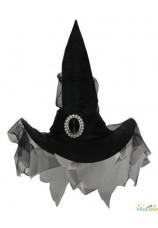 Chapeau de sorcière luxe suède