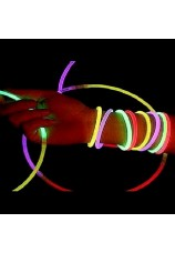 11 bracelets lumineux