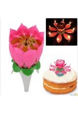 Bougie magique - fleur - artifice
