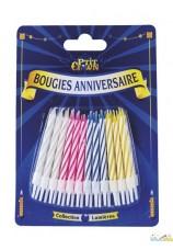 24 bougies d'anniversaire