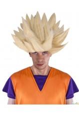 Perruque manga dragon ball blond
