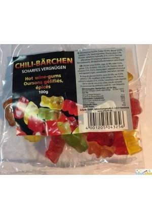 Bonbons oursons au piment 100g