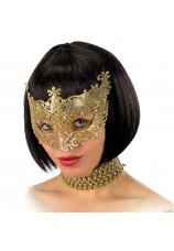 Masque venitien ciselé argenté