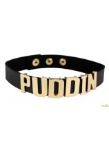 Suicide Squad collier Harley Quinn réplique Puddin ras du cou