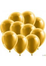 10 ballons dorés 30cm