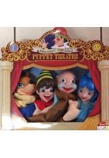 Marionnettes Pinocchio et ses amis 4 pieces