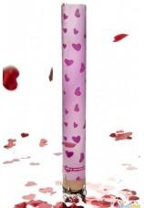 Cannon confettis coeur 40cm