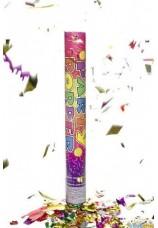 Cannon confettis 40CM  multicolor