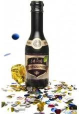 Bouteille de champagne confettis