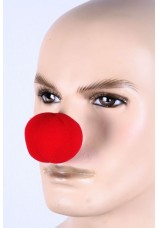 nez de clown en mousse