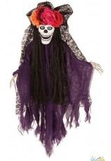squelette muerte animé 80cm homme
