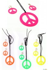 Hippie collier peace