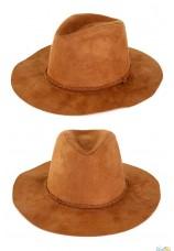 Chapeau de cowboy Indiana luxe adulte