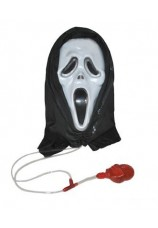 Masque de scream + sang