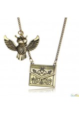 Collier Harry Potter hibou