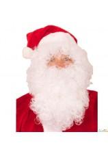 Perruque et barbe Père Noel