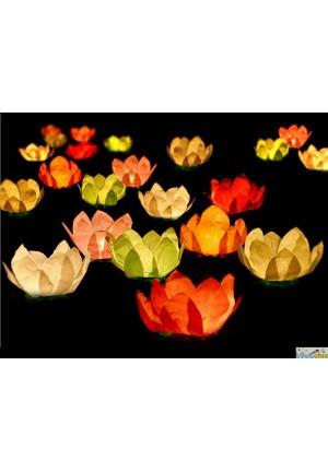 Lot de 6 lanternes flottantes