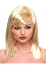 mi-longue blonde