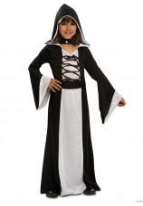 Robe de sorcière à capuche