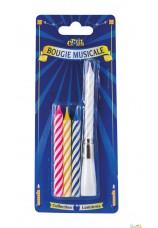 bougies d'anniversaire + chantante