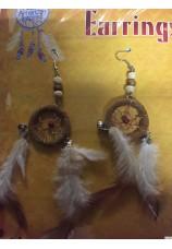 boucles d'oreilles clips indien