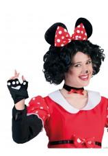 Set Mickey gants+oreilles+nez