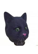 Masque de chat noir