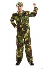 Soldat - militaire adulte S