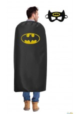 Super hero cape et masque batman