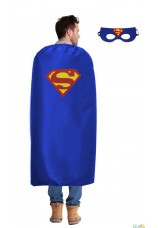 Super hero cape et masque super man