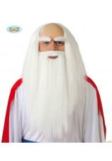Perruque et barbe de druide