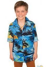 chemise hawai enfant