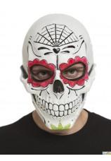 Masque squelette Muerte latex