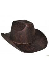 chapeau cowboy cuir look