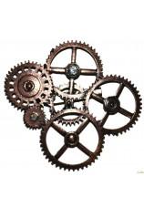 Broche steampunk