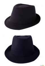 chapeau kojak noir