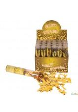 Cannon confettis doré