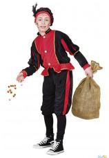 Costume de père fouettard enfant 7-9 ans