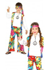 Hippie power flower enfant