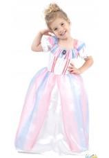 Princesse rose 3-4 ans