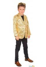 Veston disco doré