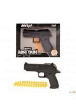 Mini revolver metal Glock + balles souples