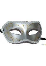Masque noir et argent