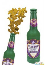 Canon confetti bouteille de bierre