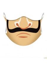 masque de bouche casa de papel